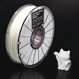 Fast premium 3D PLA filament for 3D printers / 1.75mm / WHITE / เส้นพลาสติก