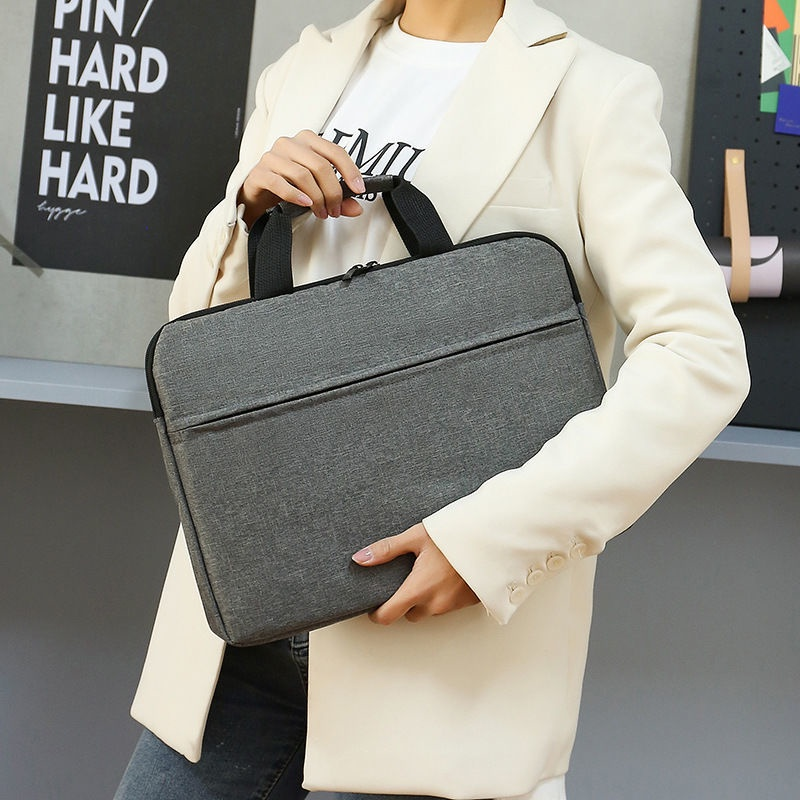 ▫ﺴ◑กระเป๋าสะพายโน๊ตบุ๊คกระเป๋าถือไหล่ 13/14/15.6 นิ้วกระเป๋านักเรียนนักเรียน, กระเป๋าเป้ใส่คอมพิวเตอร์สำหรับเดินทางเพื่อ