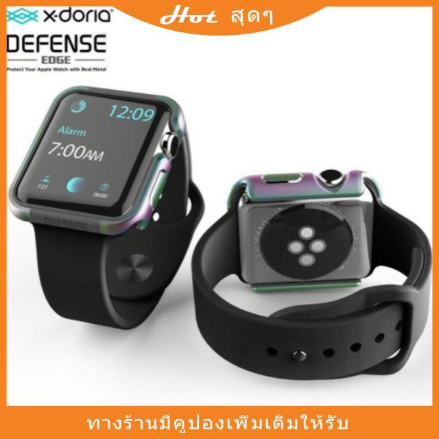 ของแท้💯% X-doria Defense Edge Case (40 42 44 mm)Apple Watch 4/5/6/SEลดพิเศษ