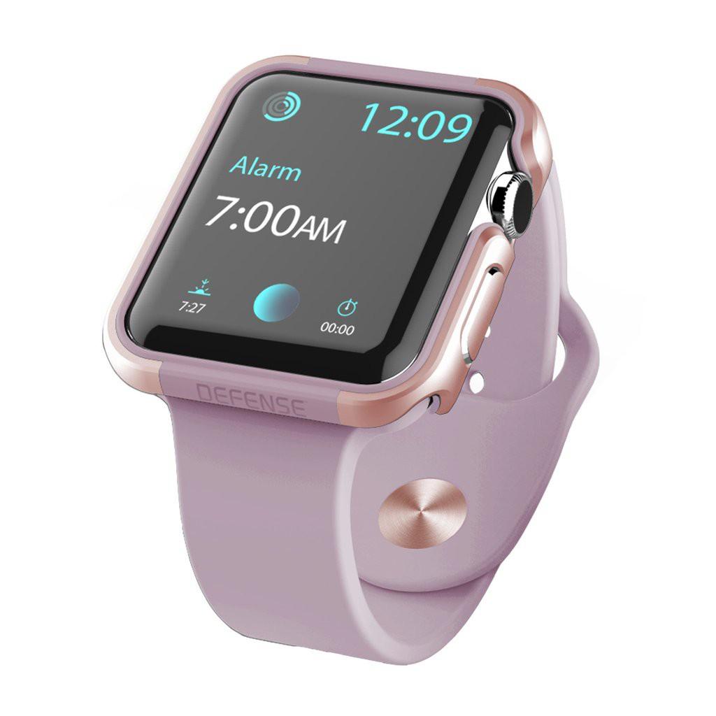 X-Doria 38mm Apple Watch Case Defense Edge (เครสนาฬิกา) สีชมพู