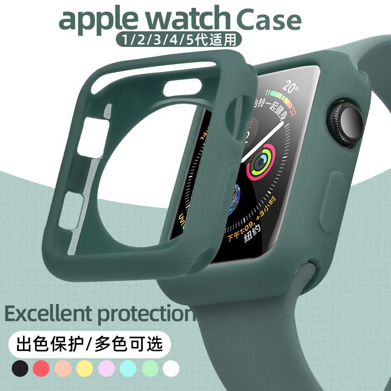 เคสซิลิโคนสําหรับ Apple Watch Series 6 SE 4 5 40 มม . 44 มม . Iwatch 3 2 1 42 มม . 38 มม .