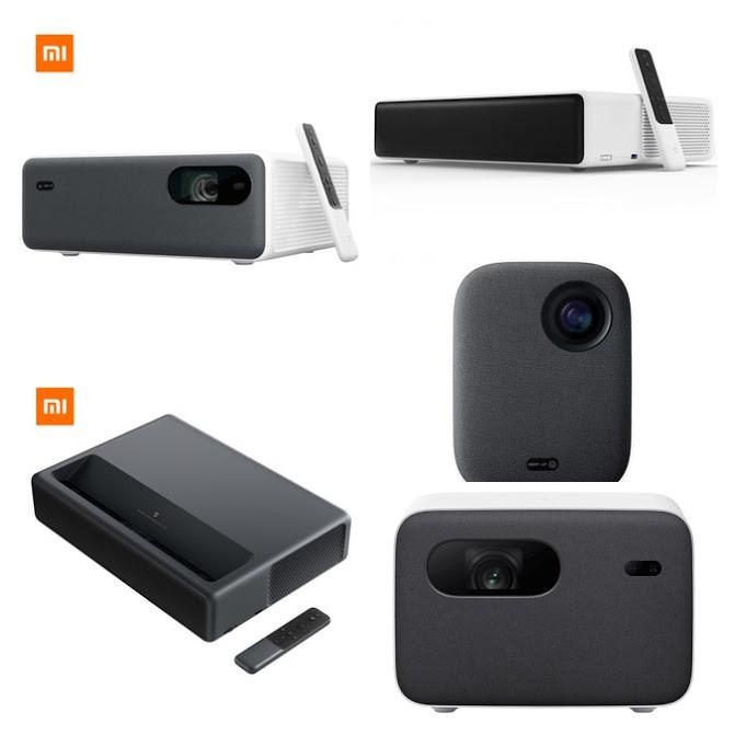 โปรเจกเตอร์ Xiaomi Mijia Laser Projector 1080P 4K 1S 2 Pro Youth Edition 2 ALPD3.0 500 2400 5000 ANSI Lumens ประกัน1ปี