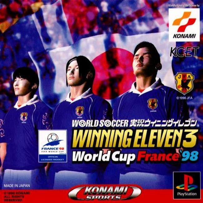 WORLD SOCCER JIKKYOU WINNING ELEVEN 3 [PS1 JP : 1 Disc]