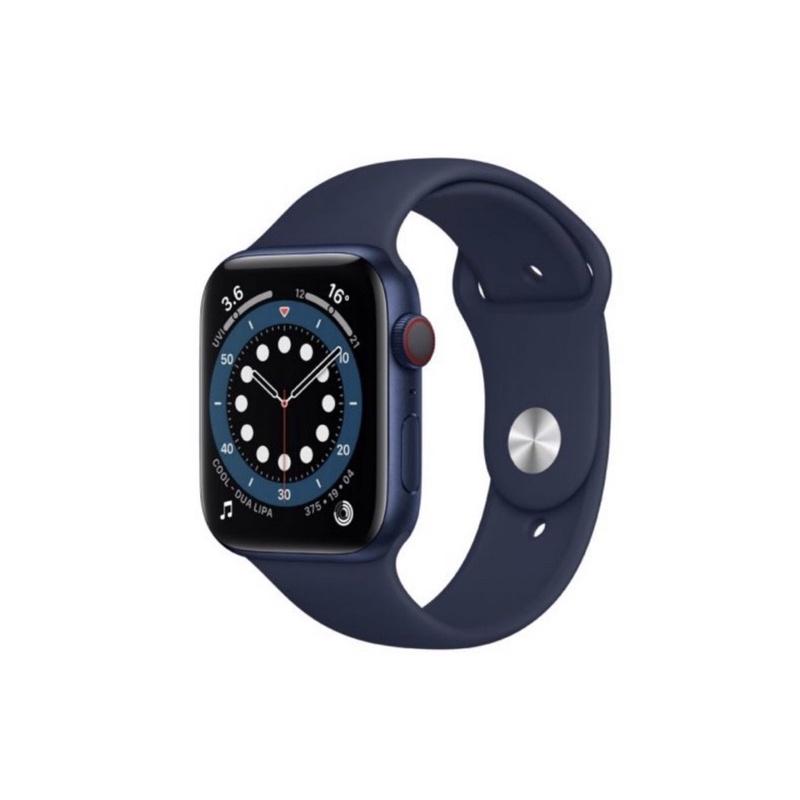 Apple Watch Series 6 - Blue Aluminium Case with Deep Navy Sport Band GPS (40mm)