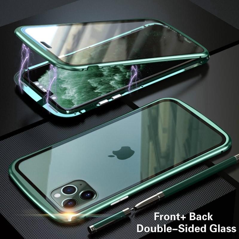 เคสโทรศัพท์มือถือแบบสองด้านสําหรับ Iphone 11 / 11 Pro / 11 Pro Max