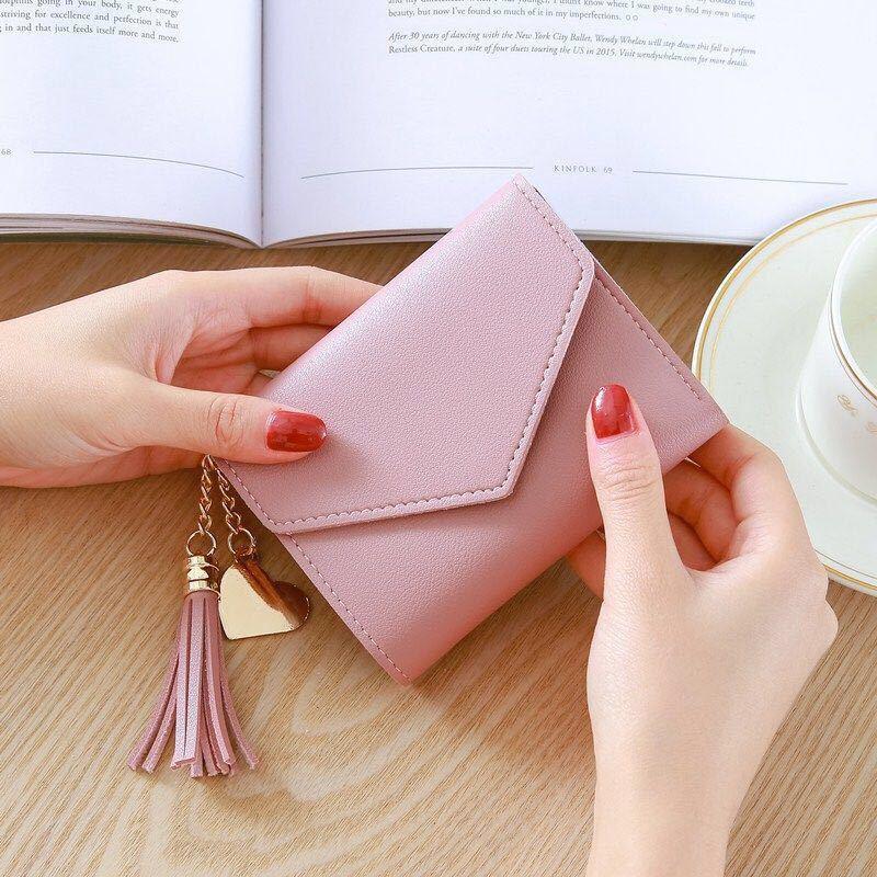 กระเป๋าเงินใบสั้นกระเป๋าเงิน coach✆กระเป๋าสตางค์ใบสั้นผู้หญิง สไตล์สุภาพสตรีกระเป๋าใบเล็กมินินักเรียนเวอร์ชั่นเกาหลีกระเ