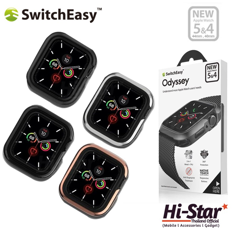 Switcheasy เคสนาฬิกา Apple Watch รุ่น Odyssey Case เคสแอปเปิ้ลวอช เคส apple watch for Apple Watch Series 4-5 (40/44MM)