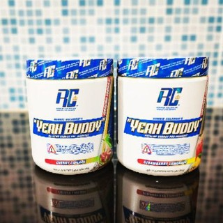🤗Rc​ Ronnie​ coleman's  Yeah Buddy​ Pre-workout 30 servings.(เพิ่มแรงสุดโหด)​