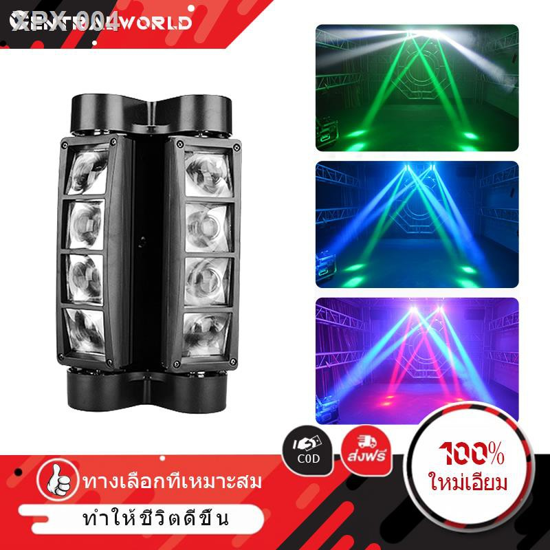 ❤มีของพร้อมส่ง❤¤CW ไฟเวที ไฟเวทีแปดตา ไฟเลเซอร์ในผับ ไฟแฟลชเวที 40 วัตต์ ไฟแฟลช KTV แฟลช LED Light Bar ไฟหัวเลเซอร์ mi