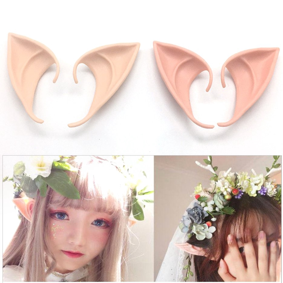Angel Elf Ears Soft False Ears Halloween Party Cosplay Accessories