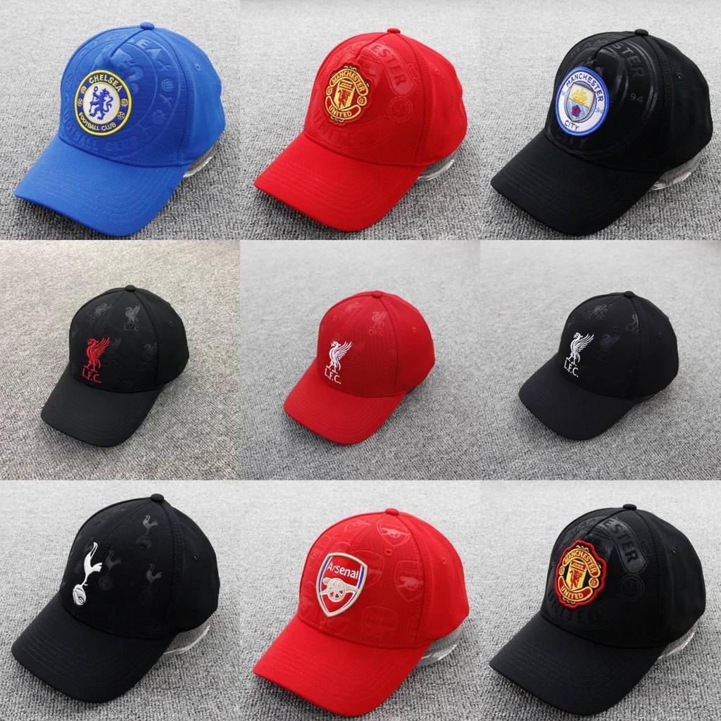 หมวก หมวกแก๊ป หมวกสโมสรฟุตบอล หมวกแก๊ปลิเวอร์พูล หมวกแก๊บเชลซี หมวกแก๊ปแมนยู หมวกแก๊ปบาซ่า หมวกแก๊ปสเปอร์ หมวกฟุตบอล