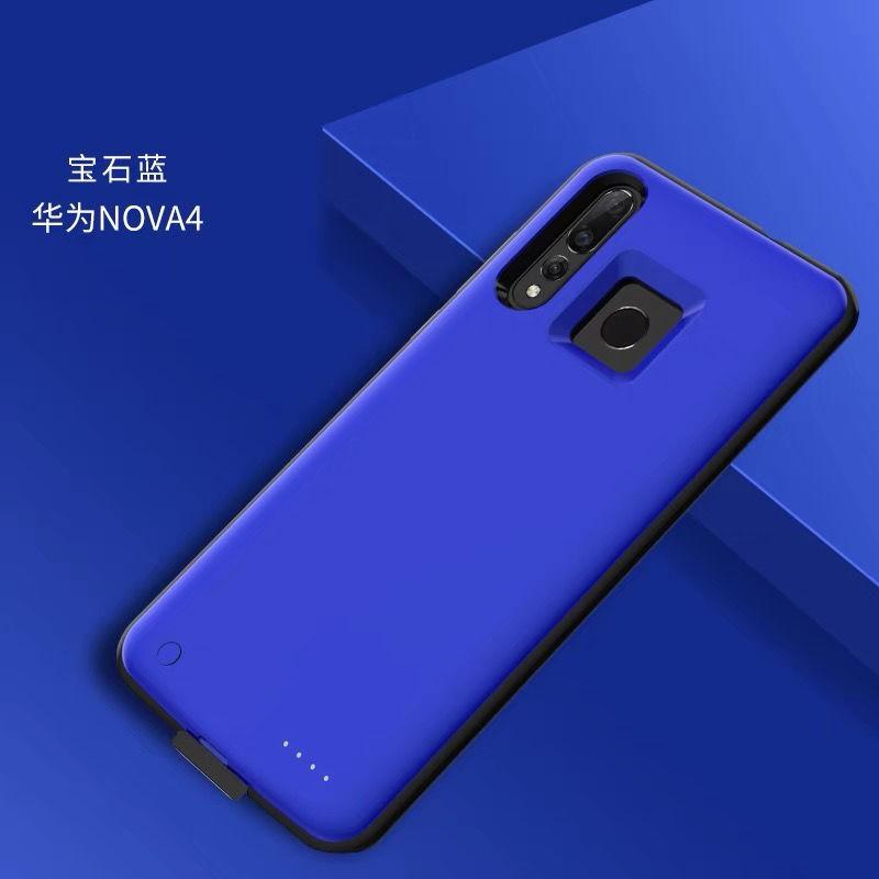 ♠สำหรับ Huawei nova4 แบตสำรองแบบคลิปหลัง nova3i แบบคลิปหนีบหลัง พาวเวอร์แบงค์ nova3e ความจุขนาดใหญ่ nova3