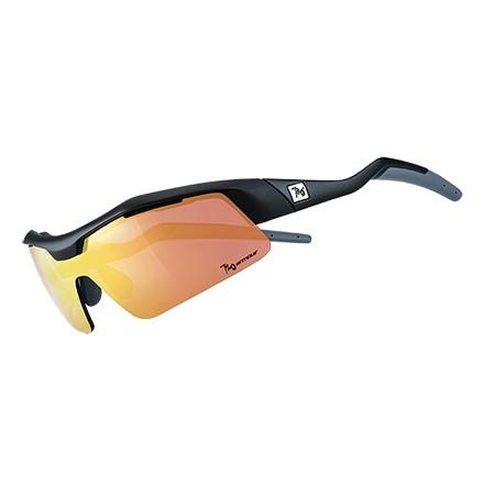 แว่นตากันแดด 720armour รุ่น Tack สีกรอบ Matte Black สีเลนส์ Champion Gold Ti