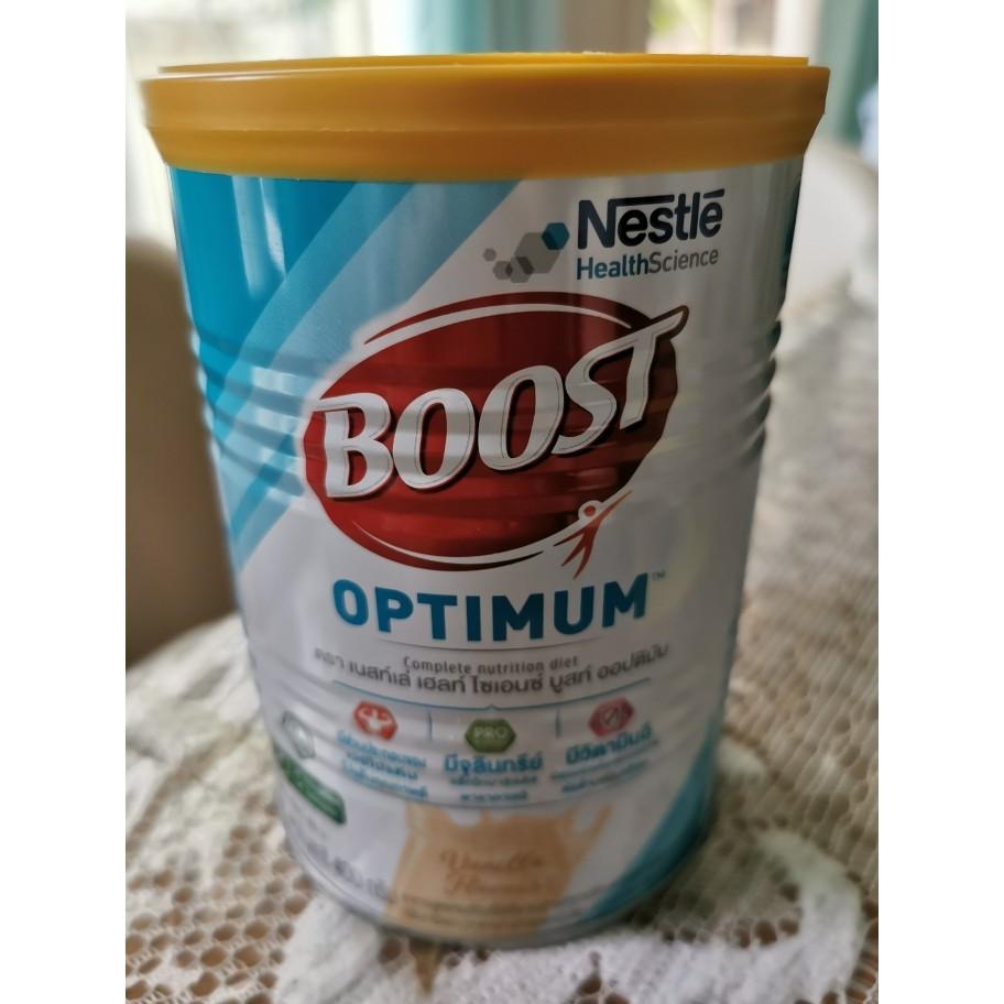 Boost Optimum บูสท์ ออปติมัม อาหารเสริมทางการแพทย์ มีเวย์โปรตีน อาหารสำหรับผู้สูงอายุ 800 กรัม
