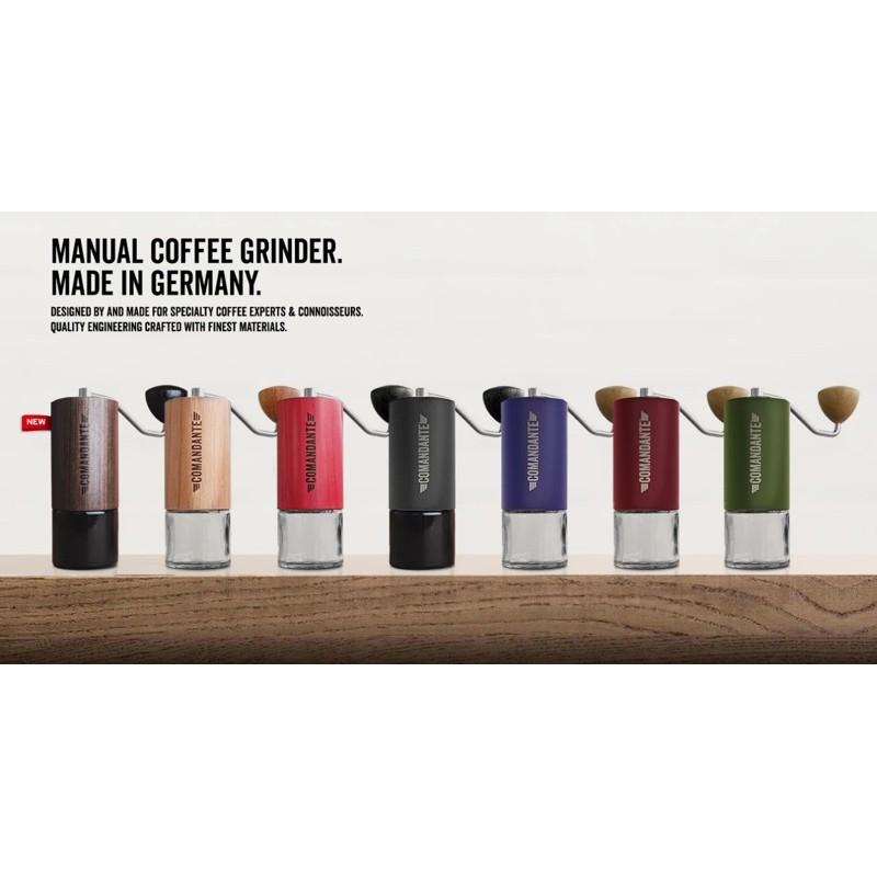 อุปกรณ์บดกาแฟ เครื่องบดมือหมุน Comandante C40 ของแท้ 100%