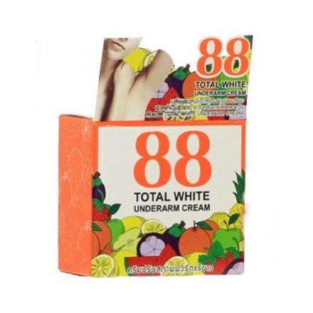 ครีมปรับสภาพผิวรักแร้ขาว ครีมรักแร้ขาว 88 Total white underarm cream (169)