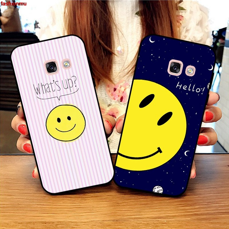 Samsung A3 A5 A6 A7 A8 A9 Pro Star Plus 2015 2016 2017 2018 HHDW Pattern-2 Silicon Case Cover