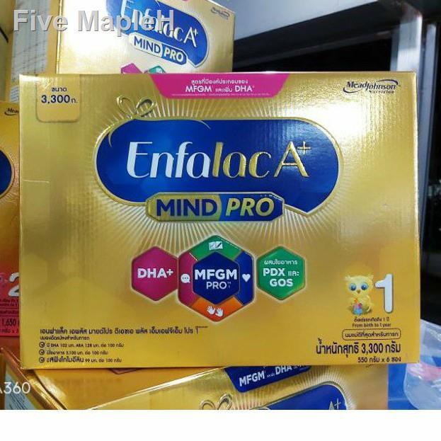 ของขวัญ⊕โฉมใหม่!! Enfalac A+1 MindPro เอนฟาแล็ค เอพลัส สูตร1 ขนาด 3,300กรัม (6ซอง)