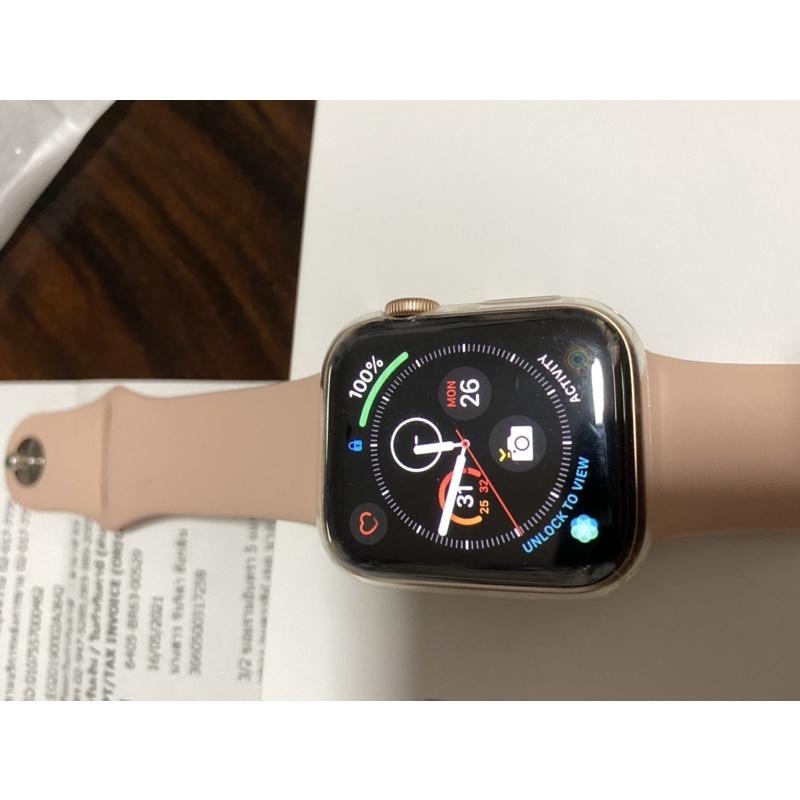 ขาย apple watch SE Gold Aluminum Case 40MM GPS