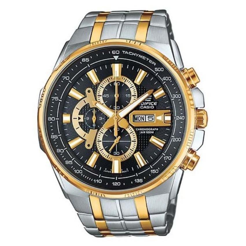 Casio Edifice นาฬิกาข้อมือผู้ชาย สายสแตนเลส EFR-549SG-1AVUDF - Gold/Silver