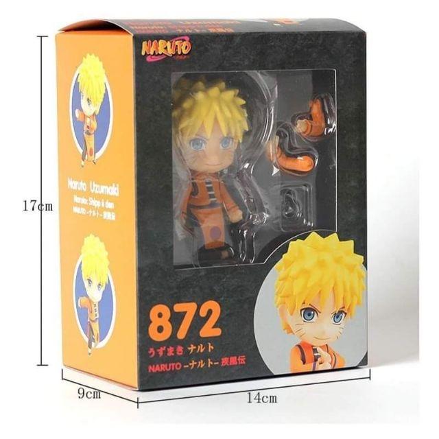 Naruto Shippuden GSC Cute Clay Figure nendoroid Naruto No. 872 Boxed Garage Kit Model