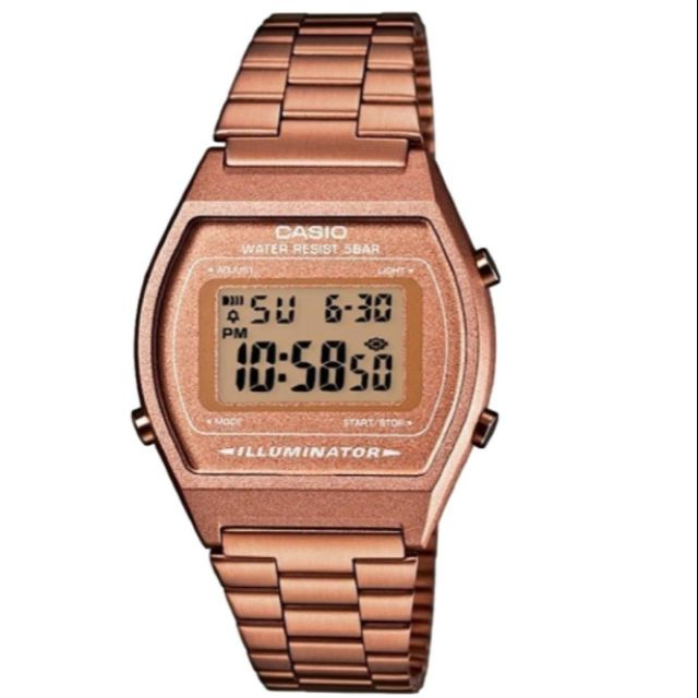 นาฬิกาข้อมือผู้ชาย CASIO รุ่น B640WC-5ADF สายสแตนเลส รับประกัน1ปี ของแท้แน่นอน 💯% ส่งพร้อมกล่อง
