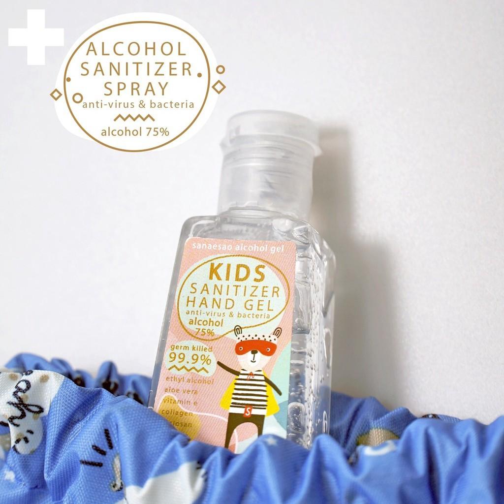 จัดส่งจากประเทศไทย﹍✌(พร้อมส่ง) Alcohol แอกอฮอล์ 75% เจลล้างมือขนาดพกพา สำหรับเด็ก และผู้ใหญ่ 👍👍
