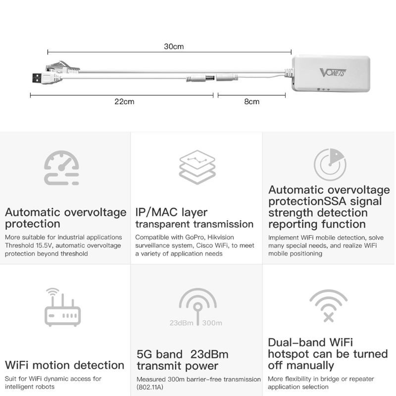 Perfect♂ USB Powered Wireless Portable Wifi Repeater WiFi Bridge Pocket