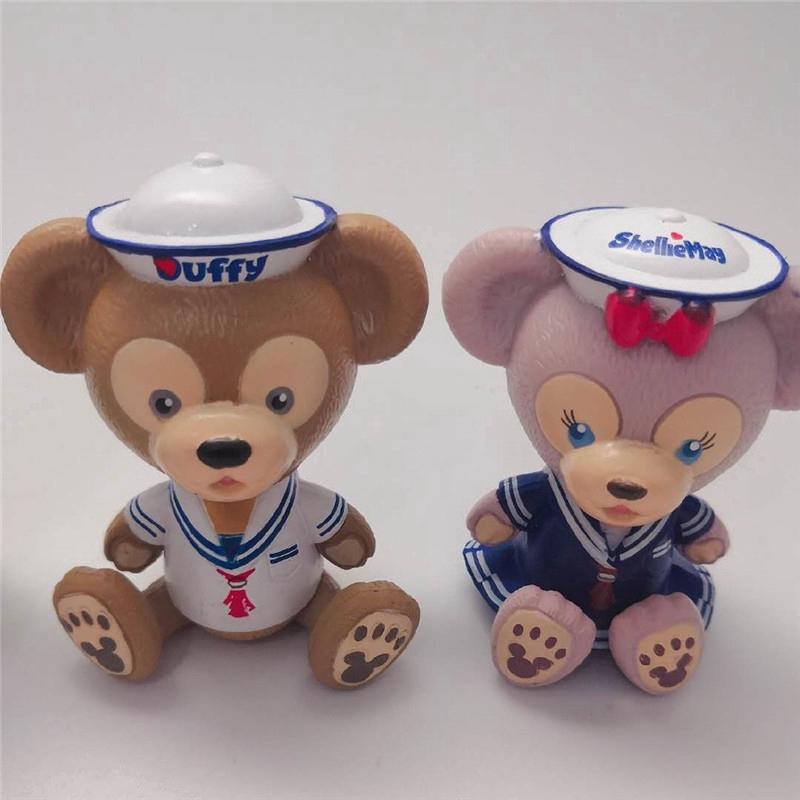 Cute  Disney Duffy Bear Cartoon StellaLou Gelatoni Garage Kit Action Figure