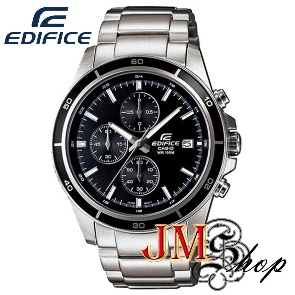 Casio Edifice นาฬิกาข้อมือผู้ชาย สีเงิน สายสแตนเลส รุ่น EFR-526D-1AVUDF