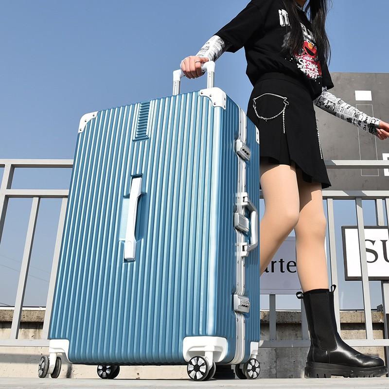 กระเป๋าเดินทางความจุขนาดใหญ่ 32 นิ้ว 24 Submount 26 สําหรับผู้ชายผู้หญิง