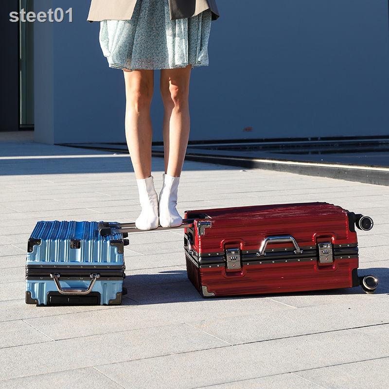 กระเป๋าเดินทางล้อลากอลูมิเนียมจุของได้เยอะขนาด 26 นิ้ว 24 นิ้ว