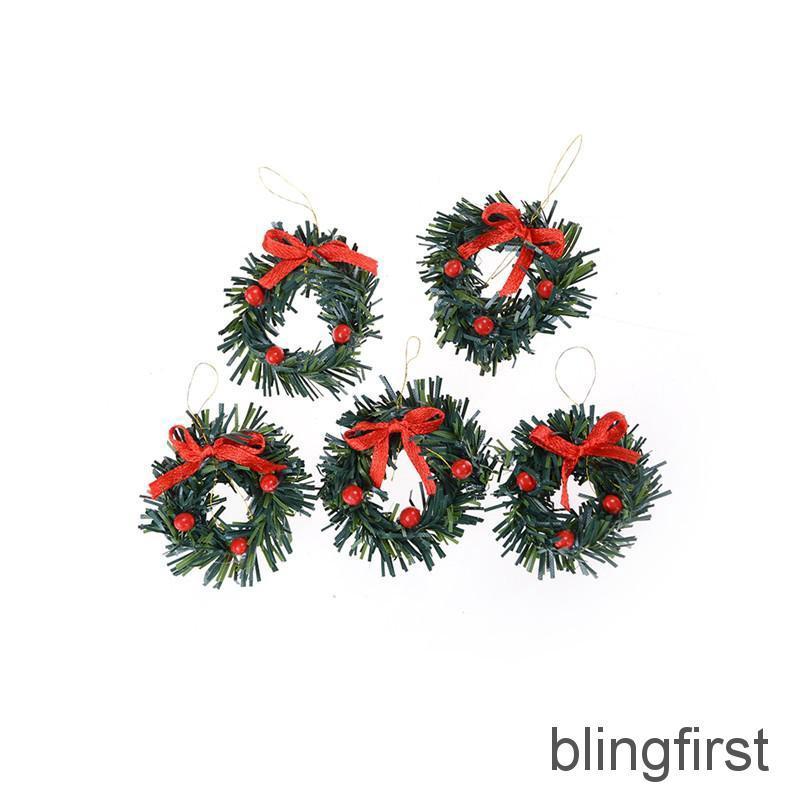 6.5cm High DollHouse Christmas Tree DIY Miniature Decor Photography Props Gift /&