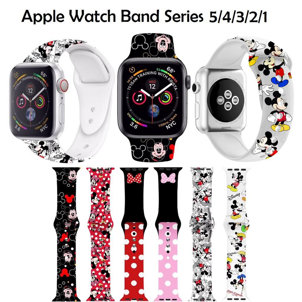 สาย applewatch สายนาฬิกา applewatch 🔥สาย Apple Watch🔥 ทันสมัย พิมพ์หนังสือ สายนาฬิกาข้อมือ น่ารัก Apple Watch Band 6 5