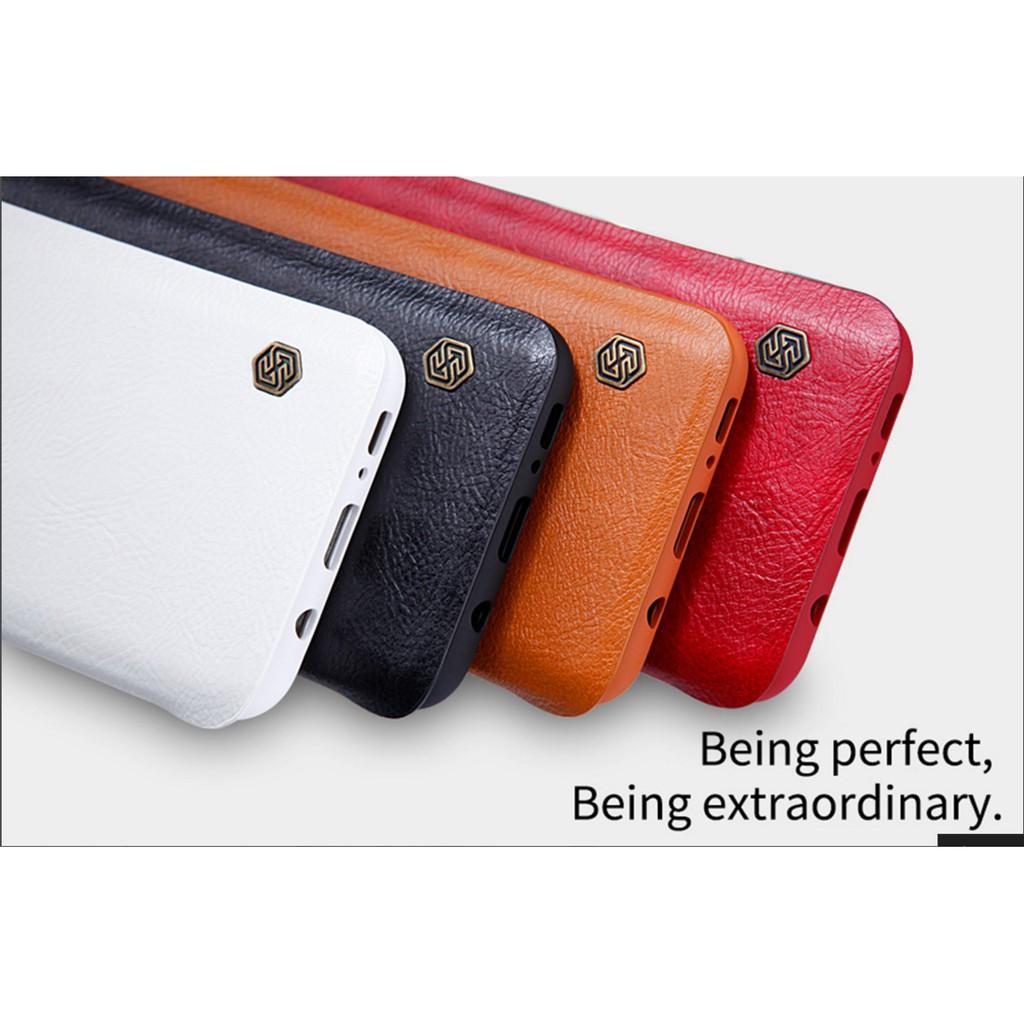 Samsung Galaxy S8 - เคสฝาพับ หนัง Nillkin QIN Leather Case แท้ - เคสซัมซุง