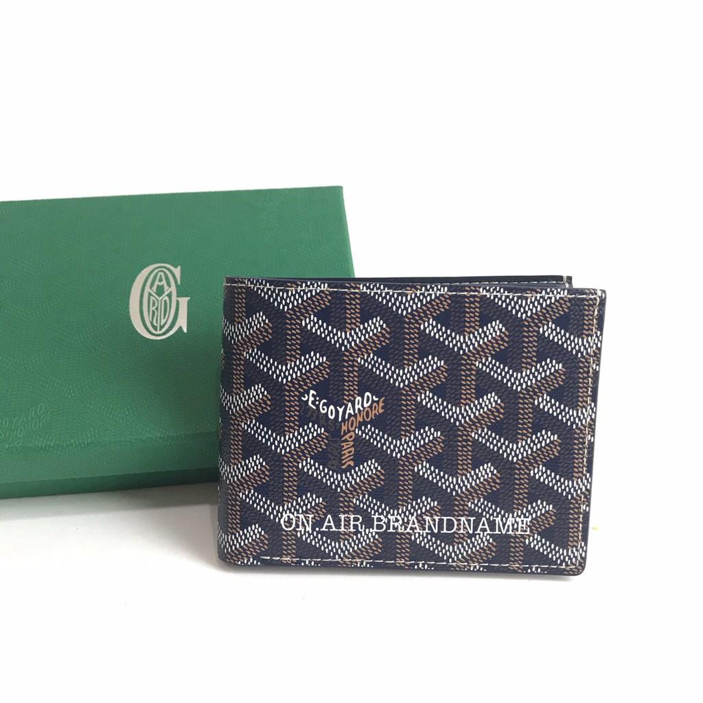New goyard wallet สีกรม สวยหายาก