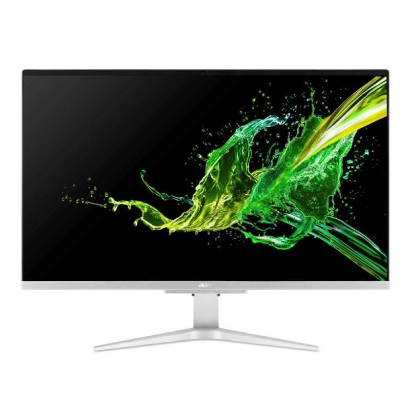 "Acer All-in-One Aspire C27-962-51016G27MGi/T002 (IPS 27"", Core i5-1035G1, 16GB DDR4, MX130 2GB GDDR5 ) ประกันศูนย์ 3 ปี"