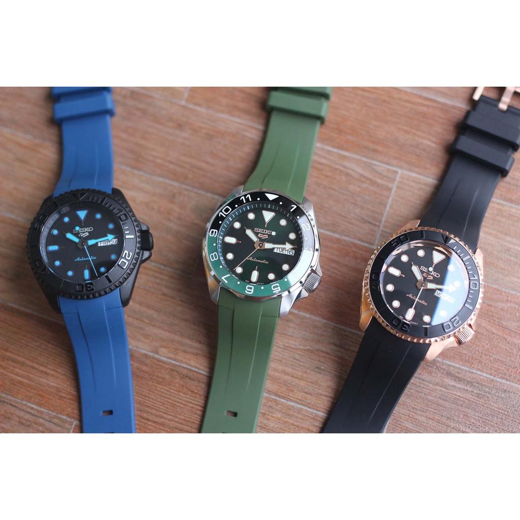 applewatch series 6☒โปรโมชั่น สายนาฬิกา รุ่น MONSTER STRAPS for Seiko SKX007,009,011, Seiko5 Sports (SRPD), Seiko ราคาถู