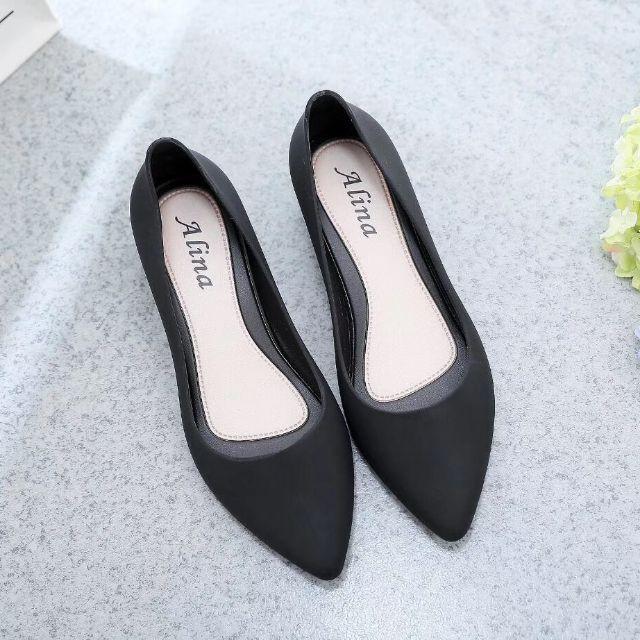 รองเท้าคัดชูผู้หญิง รองเท้าสวมผู้หญิง รองเท้า คัชชู หัวแหลม รองเท้าทำงาน นำเข้าจากต่างประเทศ