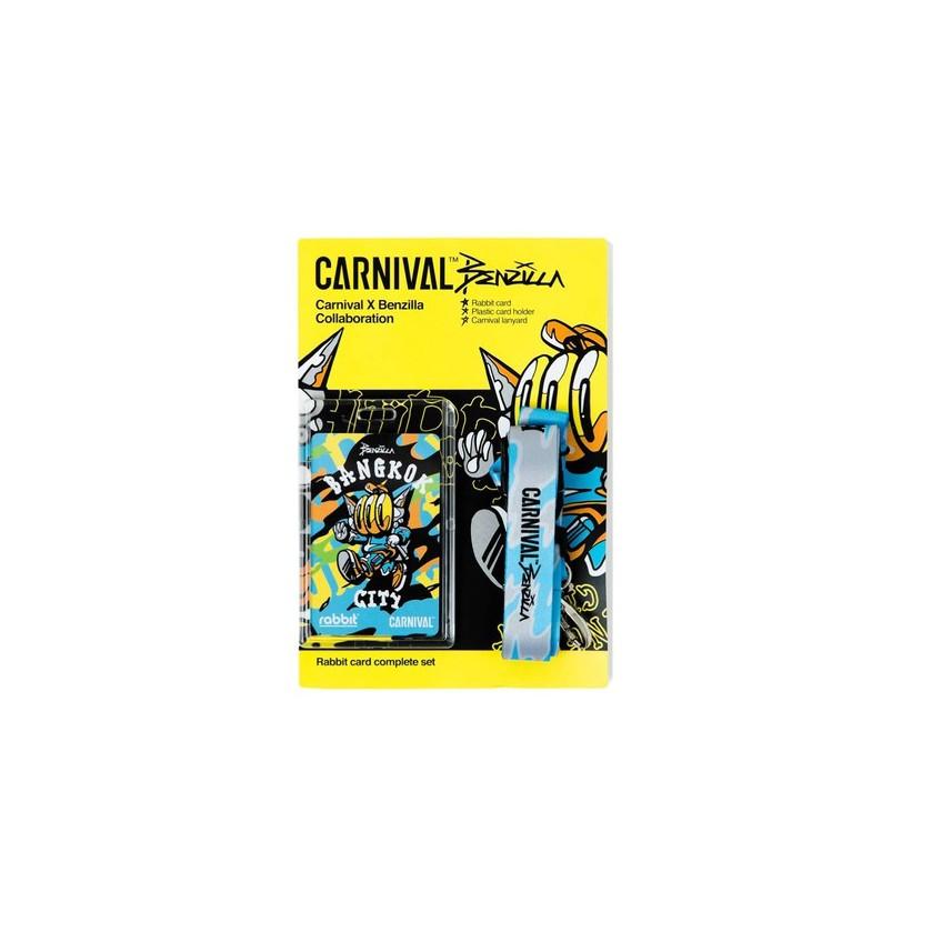 """บัตรแรบบิท Carnival™ Rabbit Card """"artist Series"""" [ลิขสิทธิ์แท้ Carnival Thailand ]."""
