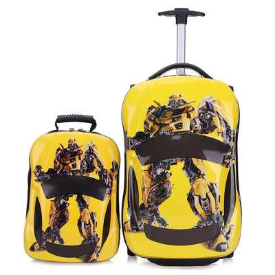 ₨✣รถเข็นเด็ก, พาหนะ, กระเป๋าเด็ก, กระเป๋าเดินทางเด็ก, กระเป๋าเดินทางการ์ตูน, รถสี่ล้อ18นิ้ว, กระเป๋าเดินทางเด็ก