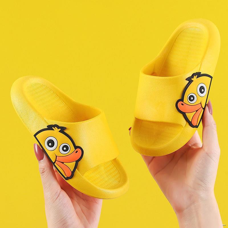 ยางยืดออกกําลังกาย☎❉❇(รองเท้าเด็ก รองเท้าแตะเด็ก)  รองเท้าแตะเด็กฤดูร้อนชายหญิงรองเท้าแตะเด็กเด็กอ่อนกันลื่นน่ารักรองเท