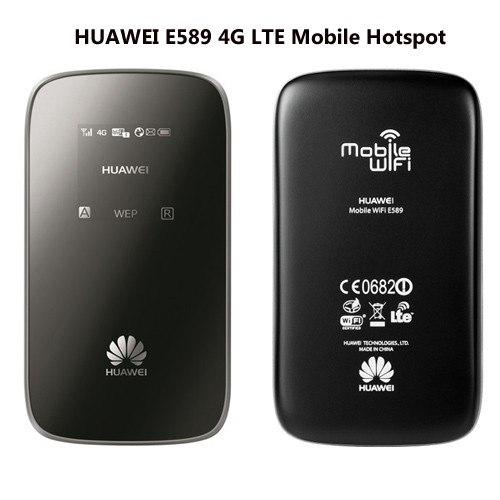 Unlocked 4G Modem Huawei E589u-12 100Mbps 4G LTE 4 Pocket WiFi Hotspot  Wireless Modem