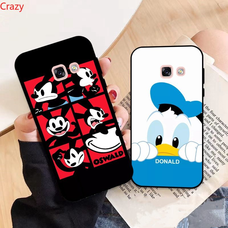 CD-Samsung A3 A5 A6 A7 A8 A9 Pro Star Plus 2015 2016 2017 2018 Disney Pattern-6 Silicon Case Cover