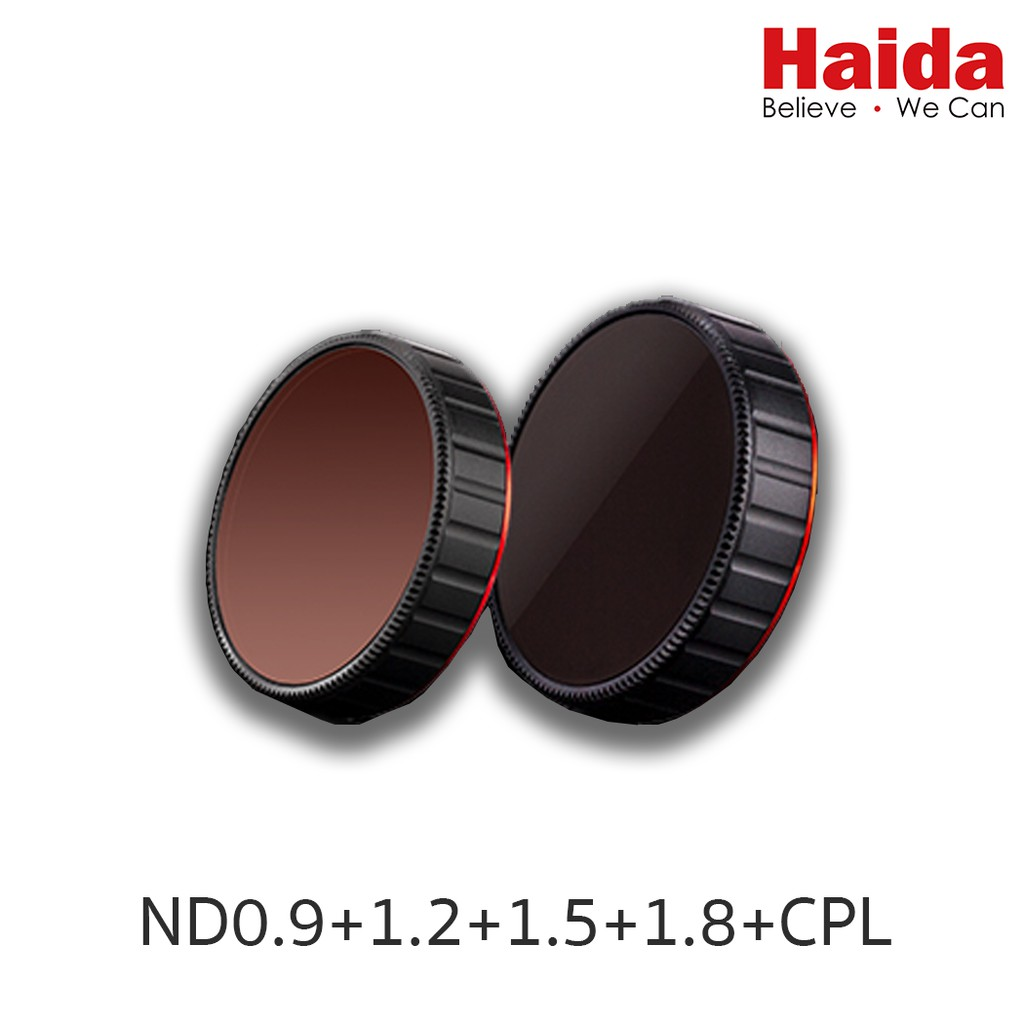 Haida NanoPro ND+CPL Kit for DJI Osmo Action Camera with ND0.9//1.2//1.5//1.8 /& CPL Filters