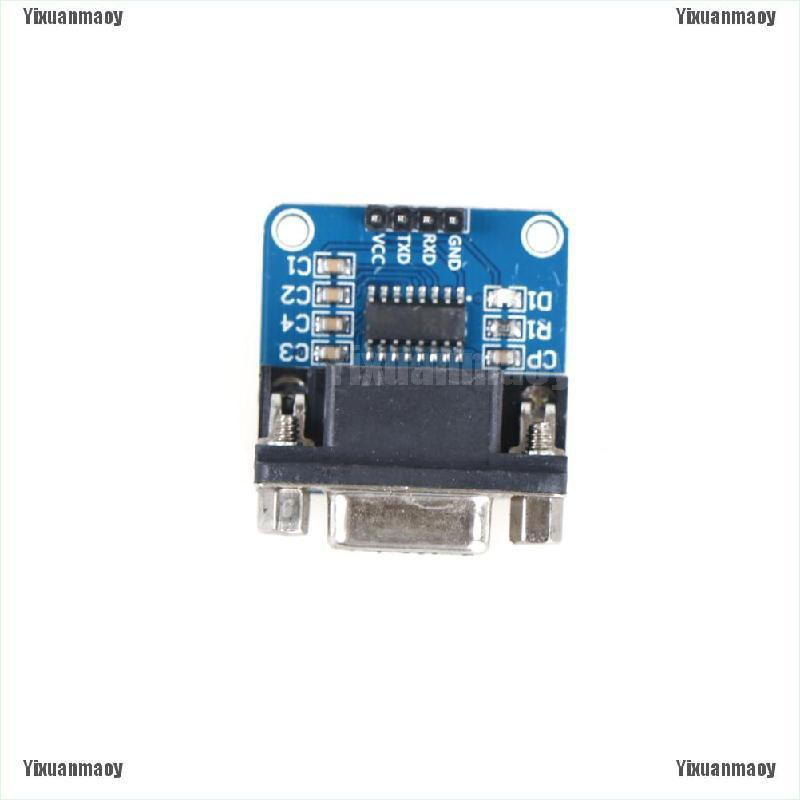 TTL RS232 Serial Port To TTL Converter Module Chip MAX3232 with TX RX GND VCC