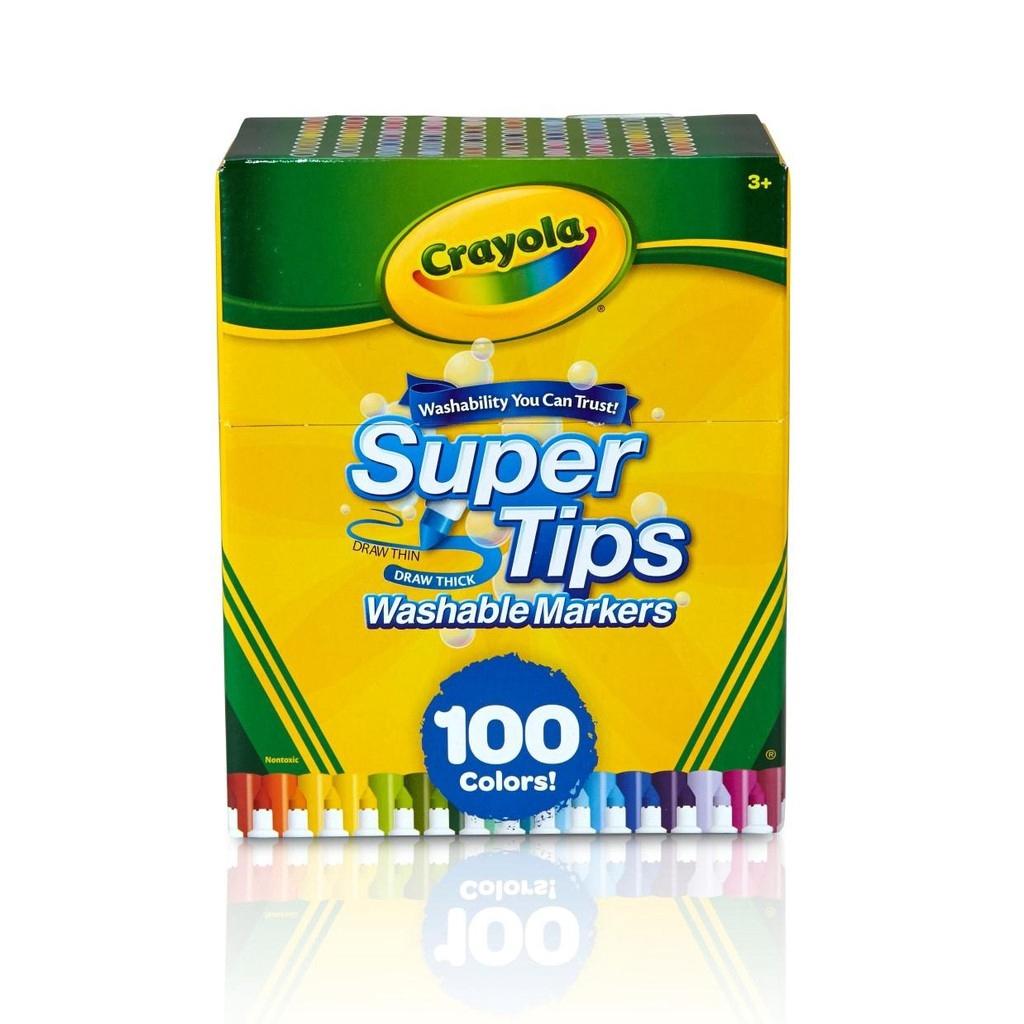 Crayola สีเมจิกซุปเปอร์ทิปส์ล้างออกได้100สี