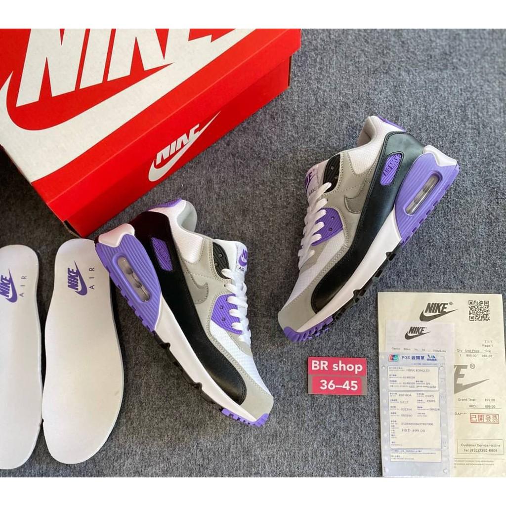 Originalพร้อมส่งรองเท้าวิ่งNike Air Max 90 sz: 36-45 ชาย,หญิง รองเท้าวิ่ง รองเท้าวิ่งมาราธอนSKU00750