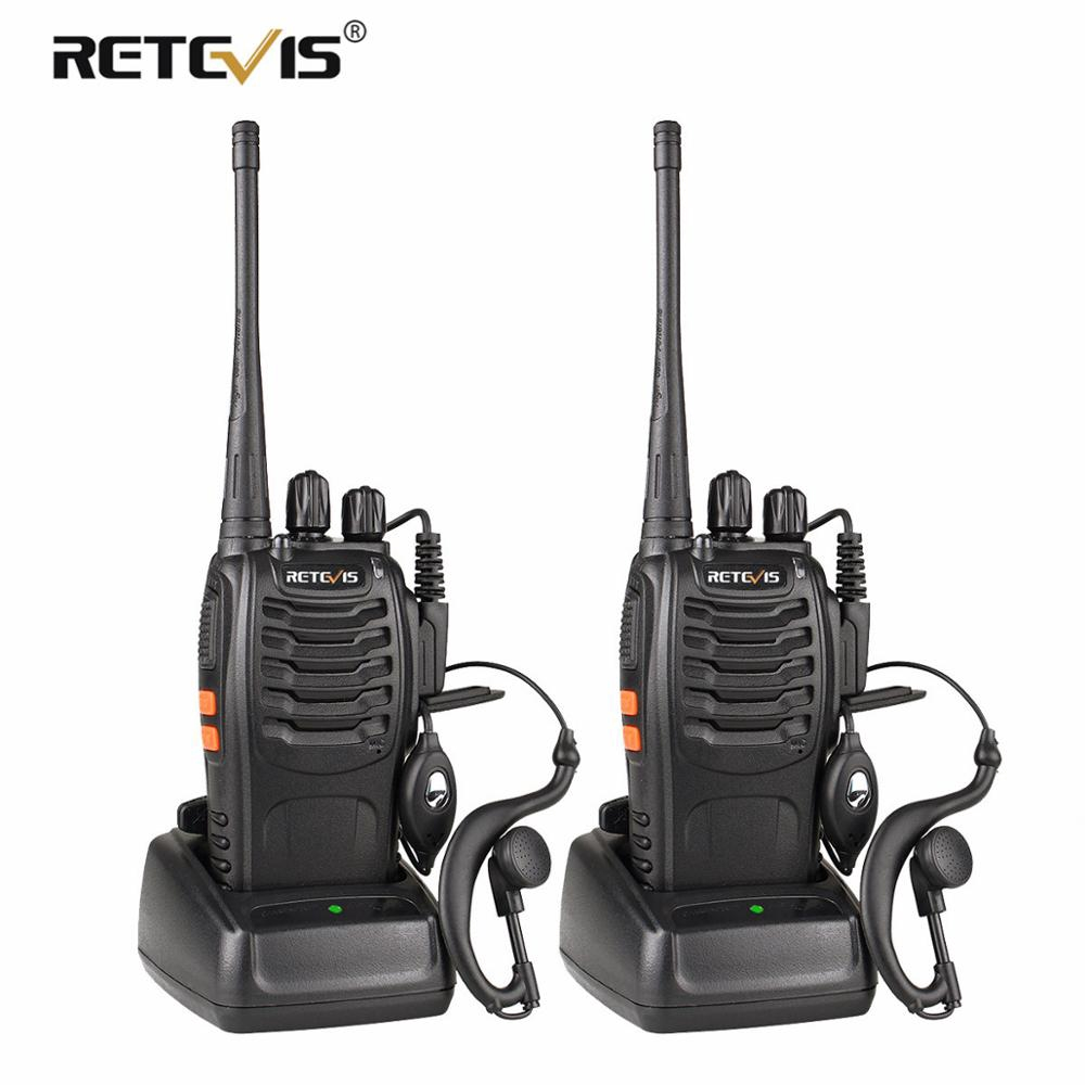 2 Walkie Talkie UHF400-470MHz H777 2 Way Radio