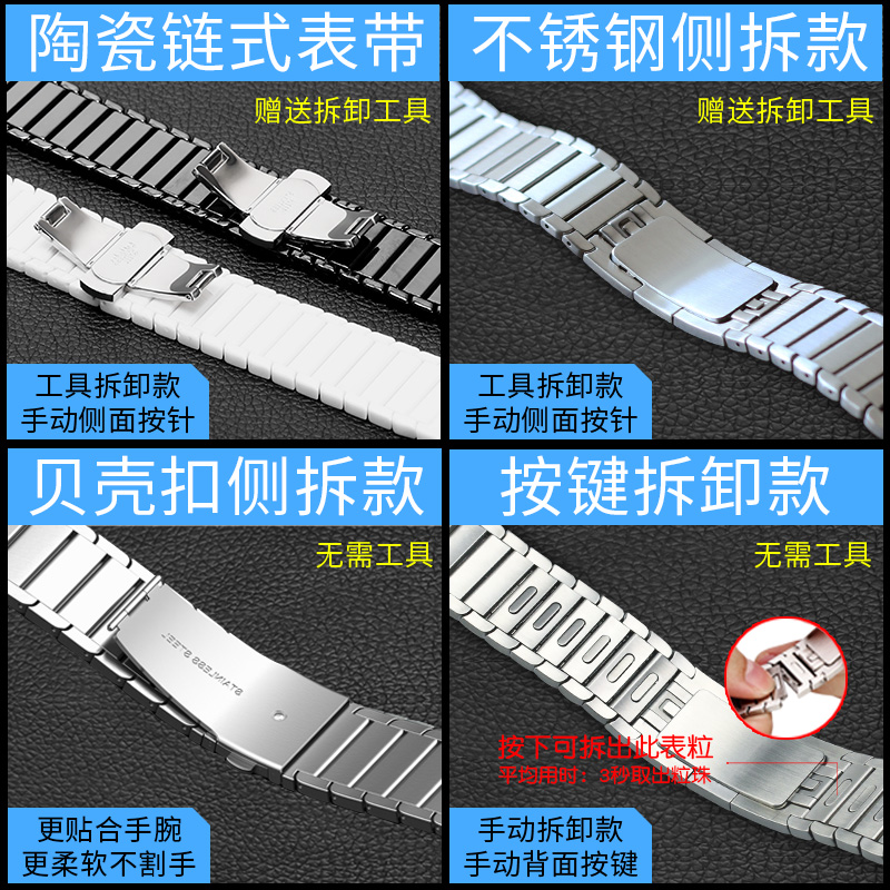 ♪・Applewatch6สายนาฬิกาสำหรับนักกีฬาสายนาฬิกา Apple watch5/4/3/2/1รุ่นสแตนเลสสตีล42 mm3 8/44/40ผู้ชาย iPhone Series S6/อิ
